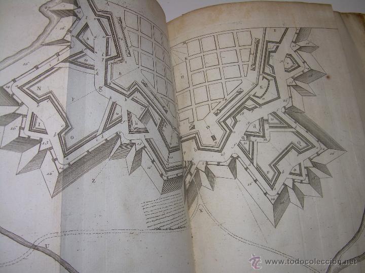 Libros antiguos: IMPORTANTE LIBRO POR SU INFINIDAD DE GRABADOS.AÑO..1.771....ARCHITECTURE CIVILE, MILITAIRE ET NAVALE - Foto 44 - 49292341