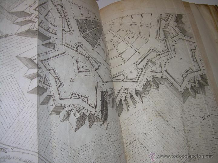 Libros antiguos: IMPORTANTE LIBRO POR SU INFINIDAD DE GRABADOS.AÑO..1.771....ARCHITECTURE CIVILE, MILITAIRE ET NAVALE - Foto 45 - 49292341