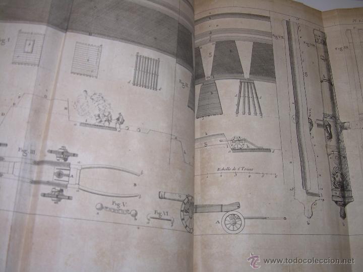 Libros antiguos: IMPORTANTE LIBRO POR SU INFINIDAD DE GRABADOS.AÑO..1.771....ARCHITECTURE CIVILE, MILITAIRE ET NAVALE - Foto 46 - 49292341