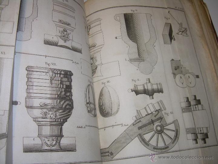 Libros antiguos: IMPORTANTE LIBRO POR SU INFINIDAD DE GRABADOS.AÑO..1.771....ARCHITECTURE CIVILE, MILITAIRE ET NAVALE - Foto 47 - 49292341
