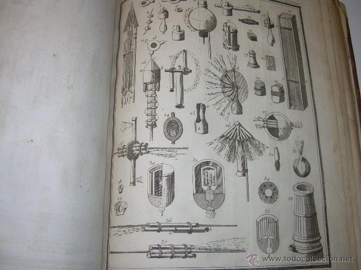 Libros antiguos: IMPORTANTE LIBRO POR SU INFINIDAD DE GRABADOS.AÑO..1.771....ARCHITECTURE CIVILE, MILITAIRE ET NAVALE - Foto 49 - 49292341