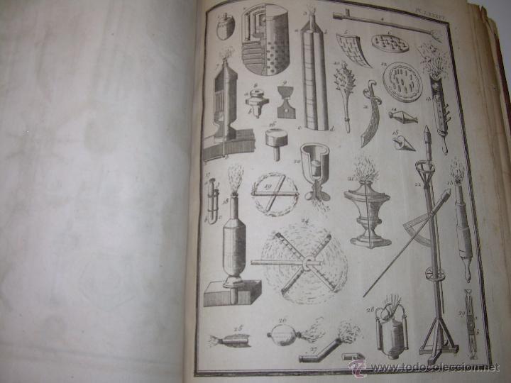Libros antiguos: IMPORTANTE LIBRO POR SU INFINIDAD DE GRABADOS.AÑO..1.771....ARCHITECTURE CIVILE, MILITAIRE ET NAVALE - Foto 50 - 49292341