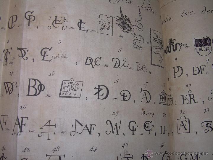 Libros antiguos: IMPORTANTE LIBRO POR SU INFINIDAD DE GRABADOS.AÑO..1.771....ARCHITECTURE CIVILE, MILITAIRE ET NAVALE - Foto 52 - 49292341