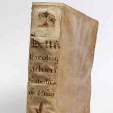 "Libros antiguos: EXORCISMOS: GONZÁLEZ MATEO, DIEGO- ""BELLUM THEOLOGICUM ADVERSAS DIABOLICAS VIOLENTIAS""-SIGLO XVIII. Lote 49294679"