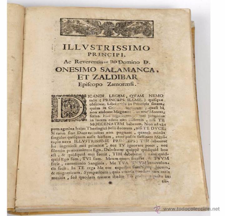 "Libros antiguos: EXORCISMOS: GONZÁLEZ MATEO, Diego- ""Bellum Theologicum adversas Diabolicas Violentias""-SIGLO XVIII - Foto 2 - 49294679"