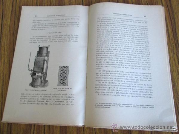 Libros antiguos: CONSERVAS ALIMENTICIAS -- Preparación de las carnes, pescado, leche, manteca, frutos, hortalizas - Foto 8 - 49336562