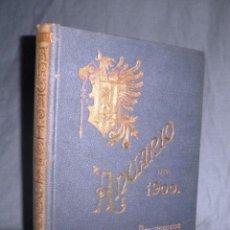 Libros antiguos: ASOCIACION DE ARQUITECTOS DE CATALUÑA - ANUARIO AÑO 1900 - BELLA EDICION MODERNISTA.. Lote 49336727