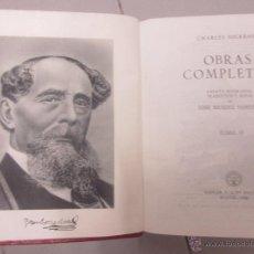 Libros antiguos: CHARLES DICKENS OBRAS COMPLETAS TOMO IV . Lote 49349751