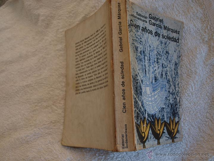 Libros antiguos: Gabriel García Márquez. Cien Años de Soledad. Primera edición. - Foto 4 - 49359861