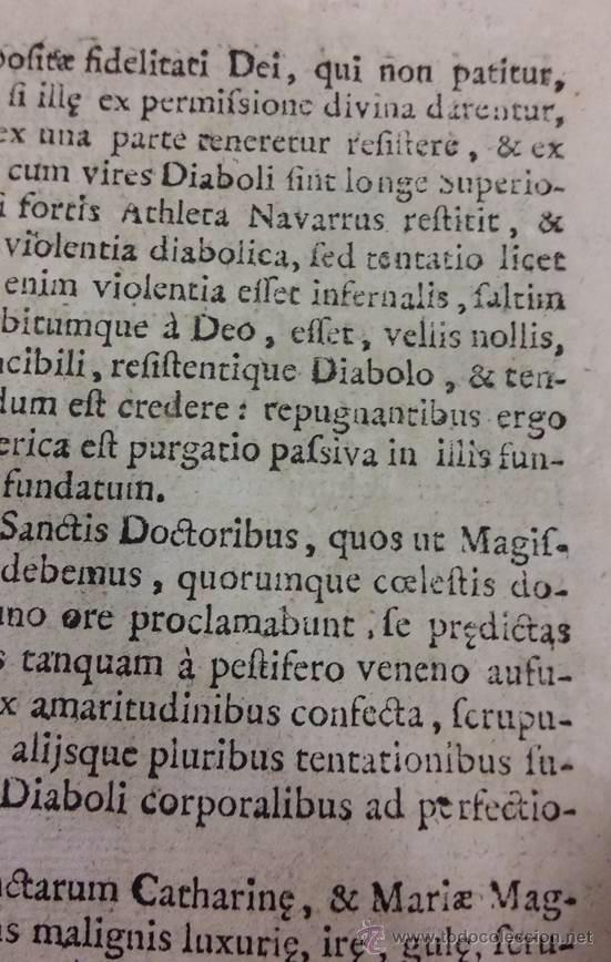 "Libros antiguos: EXORCISMOS: GONZÁLEZ MATEO, Diego- ""Bellum Theologicum adversas Diabolicas Violentias""-SIGLO XVIII - Foto 6 - 49294679"