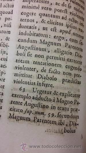 "Libros antiguos: EXORCISMOS: GONZÁLEZ MATEO, Diego- ""Bellum Theologicum adversas Diabolicas Violentias""-SIGLO XVIII - Foto 12 - 49294679"