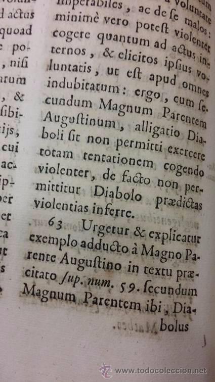 "Libros antiguos: EXORCISMOS: GONZÁLEZ MATEO, Diego- ""Bellum Theologicum adversas Diabolicas Violentias""-SIGLO XVIII - Foto 14 - 49294679"