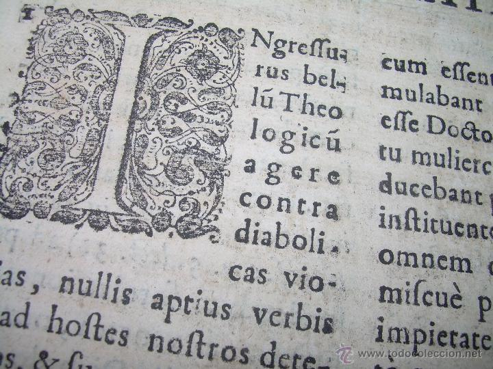 "Libros antiguos: EXORCISMOS: GONZÁLEZ MATEO, Diego- ""Bellum Theologicum adversas Diabolicas Violentias""-SIGLO XVIII - Foto 17 - 49294679"