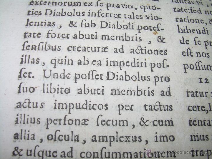 "Libros antiguos: EXORCISMOS: GONZÁLEZ MATEO, Diego- ""Bellum Theologicum adversas Diabolicas Violentias""-SIGLO XVIII - Foto 20 - 49294679"