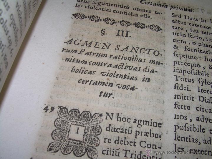 "Libros antiguos: EXORCISMOS: GONZÁLEZ MATEO, Diego- ""Bellum Theologicum adversas Diabolicas Violentias""-SIGLO XVIII - Foto 23 - 49294679"