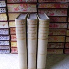 Libros antiguos: FOLKLORE Y COSTUMBRES DE ESPAÑA . LA TRADICIÓN . 3 VOLS. AUTOR : CARRERAS Y CANDI, F . Lote 49459856