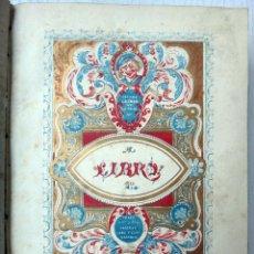 Libros antiguos: LIBRO GUZMAN DE ALFARACHE EL PICARO , 2 LIBROS EN 1, , ORIGINAL. Lote 49513388