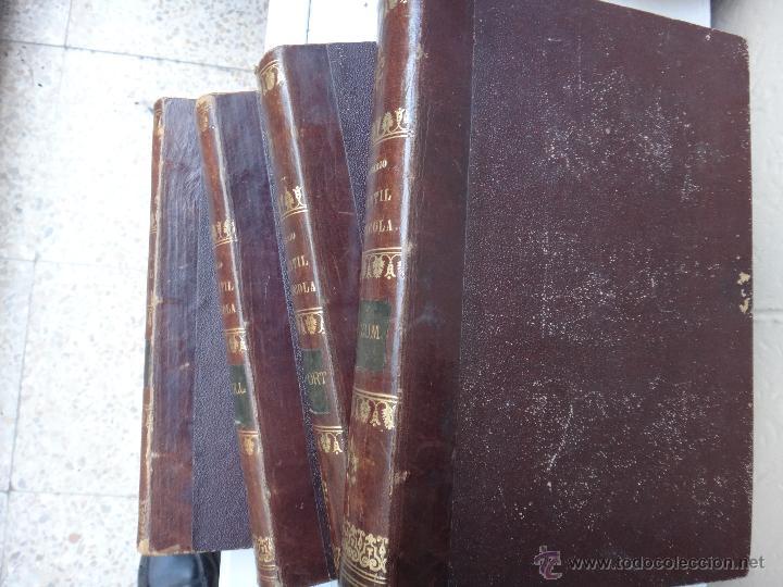 Libros antiguos: LIBRO DICCIONARIO MATERIA MERCANTIL INDUSTRIAL AGRICOLA , 4 TOMOS , 1851 ,JOSE OBIOL , ORIGINAL - Foto 2 - 49514310