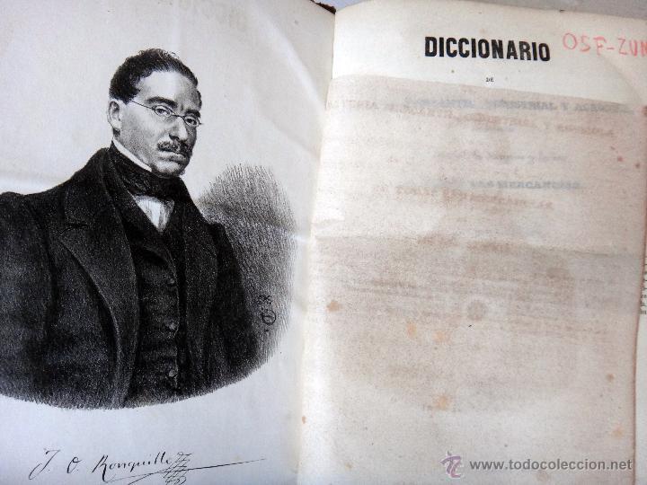 Libros antiguos: LIBRO DICCIONARIO MATERIA MERCANTIL INDUSTRIAL AGRICOLA , 4 TOMOS , 1851 ,JOSE OBIOL , ORIGINAL - Foto 7 - 49514310