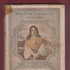 Libros antiguos: LA GITANILLA-NOVELAS EJEMPLARES-M.DE CERVANTES-INST.SOCIAL DE BELLAS LETRAS-202 PAG-LL542. Lote 49519247