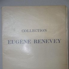 Libros antiguos: 1924 - BIBLIOTECA DE EUGENE RENEVEY - SUBASTA DE LIBROS ANTIGUOS, ENCUADERNACIONES ROMÁNTICAS . Lote 49523619