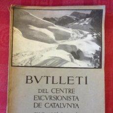 Libros antiguos: BUTLLETÍ CENTRE EXCURSIONISTA DE CATALUNYA, 1934, PEDRAFORCA. CLUB ALPI CATALA. Lote 49524328