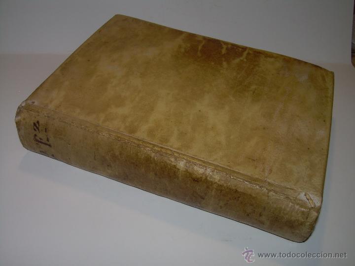 Libros antiguos: IMPORTANTE LIBRO DE PERGAMINO.ESPAÑA SAGRADA...BARCELONA...GOBERNADORES, CONDES, OBISPOS, SANTOS ETC - Foto 11 - 49540933