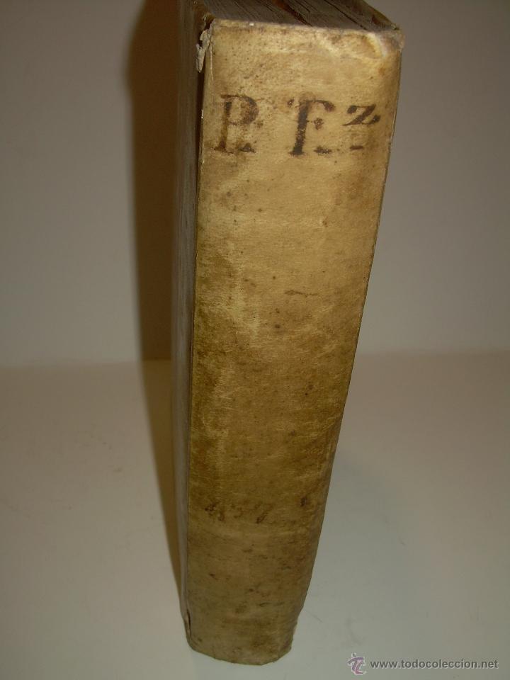Libros antiguos: IMPORTANTE LIBRO DE PERGAMINO.ESPAÑA SAGRADA...BARCELONA...GOBERNADORES, CONDES, OBISPOS, SANTOS ETC - Foto 12 - 49540933