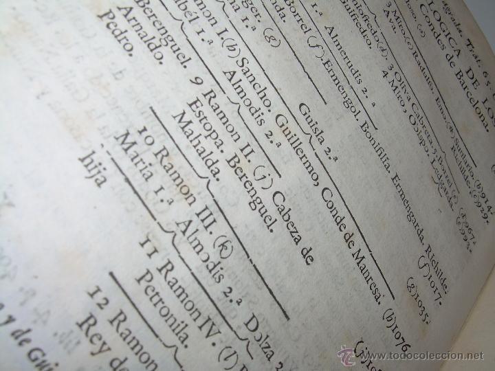 Libros antiguos: IMPORTANTE LIBRO DE PERGAMINO.ESPAÑA SAGRADA...BARCELONA...GOBERNADORES, CONDES, OBISPOS, SANTOS ETC - Foto 21 - 49540933