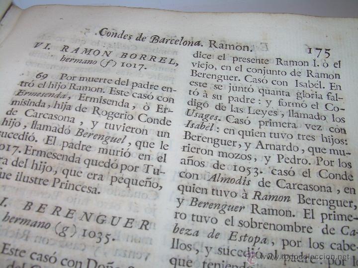 Libros antiguos: IMPORTANTE LIBRO DE PERGAMINO.ESPAÑA SAGRADA...BARCELONA...GOBERNADORES, CONDES, OBISPOS, SANTOS ETC - Foto 27 - 49540933