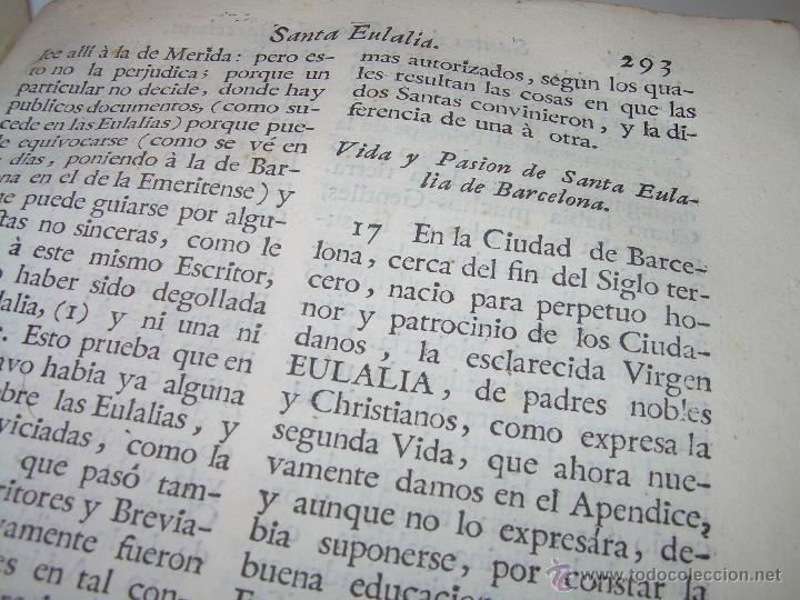 Libros antiguos: IMPORTANTE LIBRO DE PERGAMINO.ESPAÑA SAGRADA...BARCELONA...GOBERNADORES, CONDES, OBISPOS, SANTOS ETC - Foto 31 - 49540933