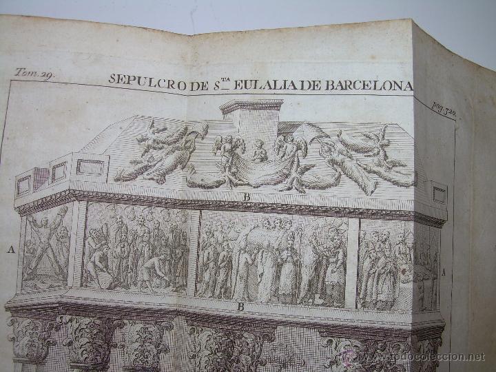 Libros antiguos: IMPORTANTE LIBRO DE PERGAMINO.ESPAÑA SAGRADA...BARCELONA...GOBERNADORES, CONDES, OBISPOS, SANTOS ETC - Foto 32 - 49540933