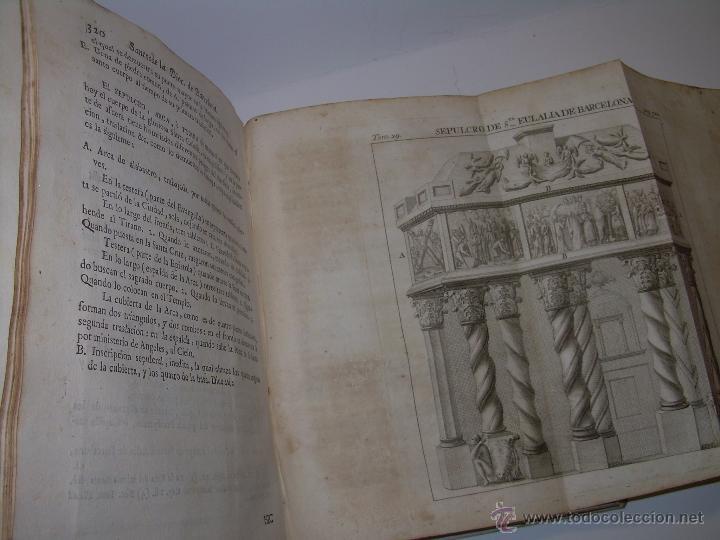 Libros antiguos: IMPORTANTE LIBRO DE PERGAMINO.ESPAÑA SAGRADA...BARCELONA...GOBERNADORES, CONDES, OBISPOS, SANTOS ETC - Foto 33 - 49540933