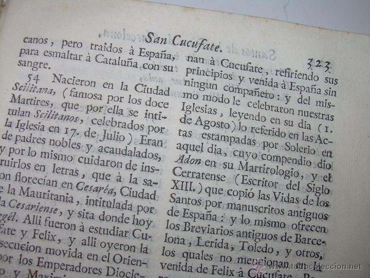 Libros antiguos: IMPORTANTE LIBRO DE PERGAMINO.ESPAÑA SAGRADA...BARCELONA...GOBERNADORES, CONDES, OBISPOS, SANTOS ETC - Foto 35 - 49540933