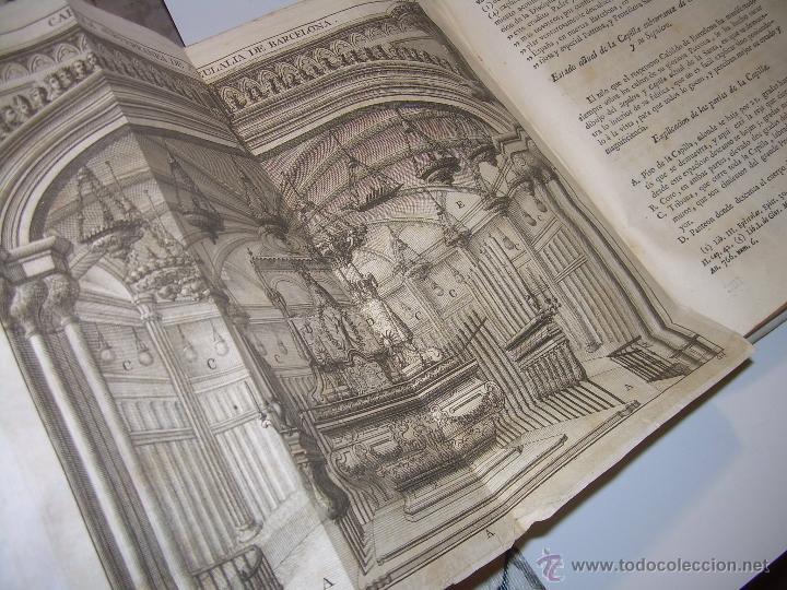 Libros antiguos: IMPORTANTE LIBRO DE PERGAMINO.ESPAÑA SAGRADA...BARCELONA...GOBERNADORES, CONDES, OBISPOS, SANTOS ETC - Foto 38 - 49540933