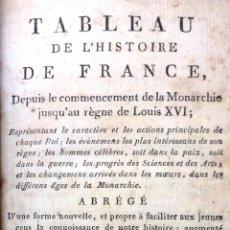 Libros antiguos: TABLEAU DE L'HISTOIRE DE FRANCE 1809. TOME SECOND. Lote 49542708