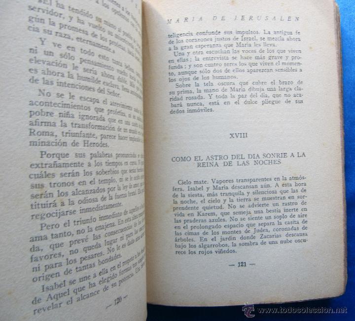 Libros antiguos: MARÍA DE JERUSALÉN. POR JEAN RAVENNES. TRAD. BORIS BUREBA. EDICIONES LITERARIAS, PARIS MADRID, 1930. - Foto 3 - 49557553