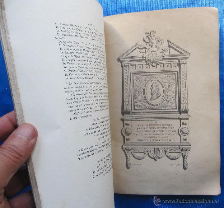 Libros antiguos: MEMORIA SOBRE EL ESTADO Y TRABAJOS LITERARIOS DE LA REAL ACADEMIA ESPAÑOLA. MARQUES DE MOLINS, 1870. - Foto 3 - 49561402