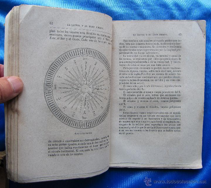 Libros antiguos: LA LLUVIA Y EL BUEN TIEMPO. METEREOLOGÍA POPULAR. POR PABLO LAURENCÍN. IMP. DE GASPAR EDITORES, S/F. - Foto 3 - 49575581