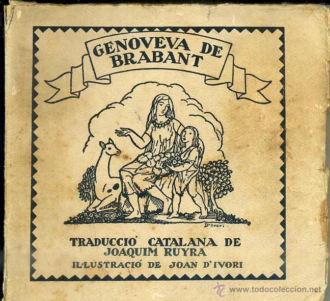SCHMID : GENOVEVA DE BRABANT (VIROLET, S/D) EN CATALÁN - RUYRA / D'IVORI (Libros Antiguos, Raros y Curiosos - Literatura Infantil y Juvenil - Otros)