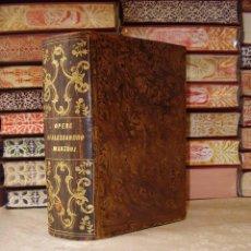 Libros antiguos: OPERE COMPLETE DI ALESSANDRO MANZONI CON UN DISCORSO PRELIMINARE DI N. 3 TEILE IN 1 BAND . . Lote 49609708