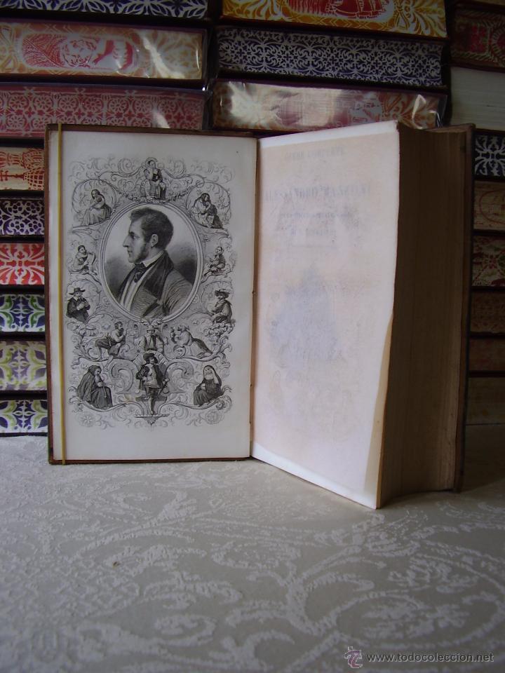 Libros antiguos: Opere Complete di Alessandro Manzoni con un discorso preliminare di N. 3 Teile in 1 Band . - Foto 4 - 49609708