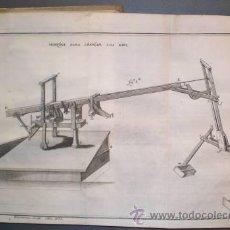 Libros antiguos: SUAREZ Y NUÑEZ, MIGUEL GERONYMO: COLECCION GENERAL DE MAQUINAS ESCOGIDAS... 2 VOLS. (1773-1784). Lote 49701698
