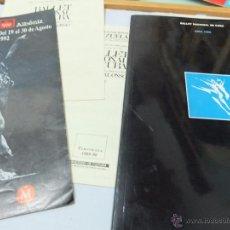 Libros antiguos: REVISTA -BALLET NACIONAL DE CUBA,GIRA 1989,PROGRAMA ALICIA ALONSO-REVISTA T. Lote 49705317