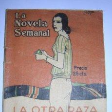 Libros antiguos: 1923 - RAMON GOMEZ DE LA SERNA - LA OTRA RAZA . Lote 49716808
