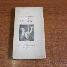Libros antiguos: CITEREA. CESTERO, TULIO M. BIBLIOTECA MIGNON LII. MADRID 1907.. Lote 49753286