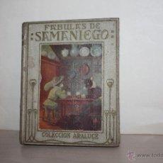 Libros antiguos: FABULAS DE SAMANIEGO =COLECCION ARALUCES=SEGUNDA EDICION =1933. Lote 49769091