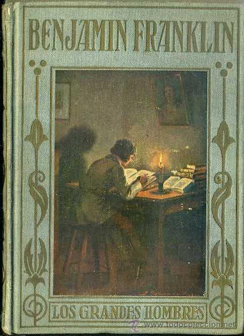 BENJAMIN FRANKLIN (1937) ARALUCE (Libros Antiguos, Raros y Curiosos - Literatura Infantil y Juvenil - Otros)