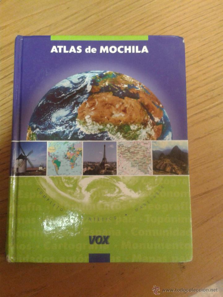 ATLAS DE MOCHILA 1ª EDICION 2005 VOX 346 PAGINAS TODO COLOR (Libros Antiguos, Raros y Curiosos - Ciencias, Manuales y Oficios - Otros)