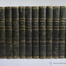Libros antiguos: HISTORIA GENERAL DE ESPAÑA; 25 TOMOS EN 12 VOLÚMENES, 1841. OBRA COMPLETA Y EN PERFECTO ESTADO!!!. Lote 34196044